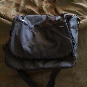 LL Bean cosmetic hanging bag